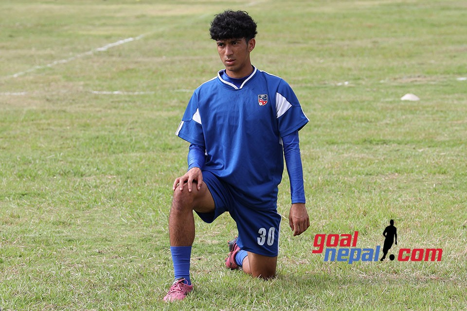 Manish Dangi Scores A Brace As Nepal U18 Beats Kaski League Champions In A Friendly