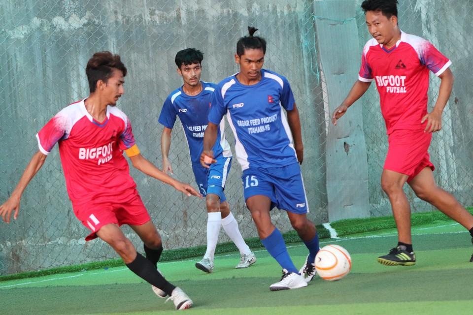 Sunsari: Garden FC & FFC Dharan Enters Final Of 2nd Saraswoti Durga Memorial Futsal