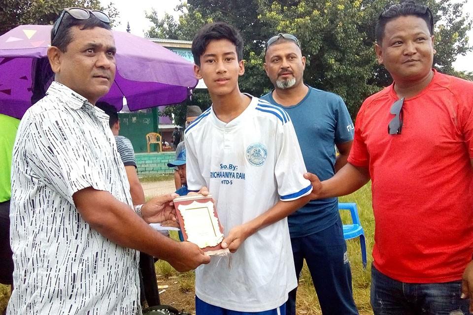 Makwanpur: FC Internet & Madan Bhandari Sports Academy Register Win In Dan Bahadur Memorial League