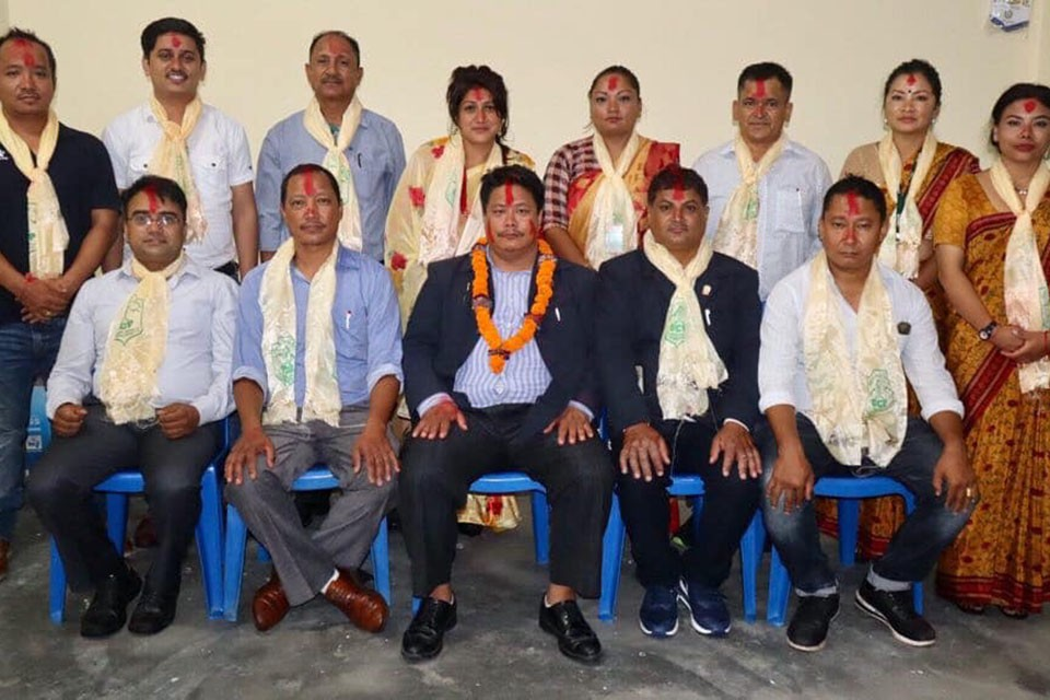 Keshab Bahadur Thapa Re-elected President Of Sahara Club