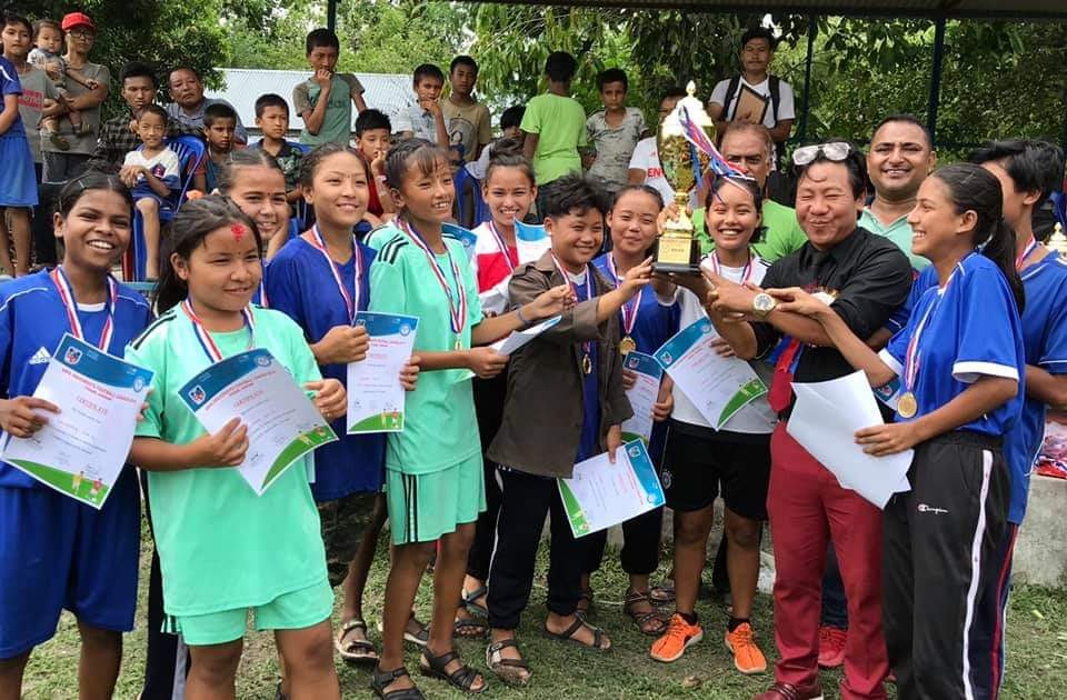 Sunsari: Kachana Ma VI Wins Title Of Girls League
