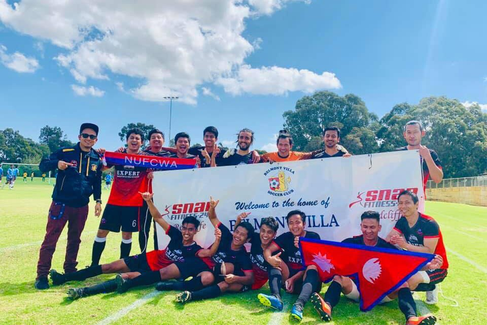 Australia: Nepalese United FC Wins Title Of Metropolitan South Division 2 League 2019