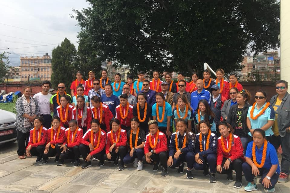 Nepal Women's Team To Set Up Camp In Pokhara For 13th SA Games