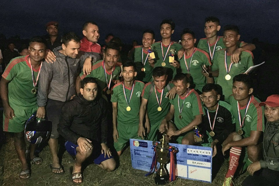 Bara:APF Bardibas Clinches Title Of Rambaan Tandi Gold Cup