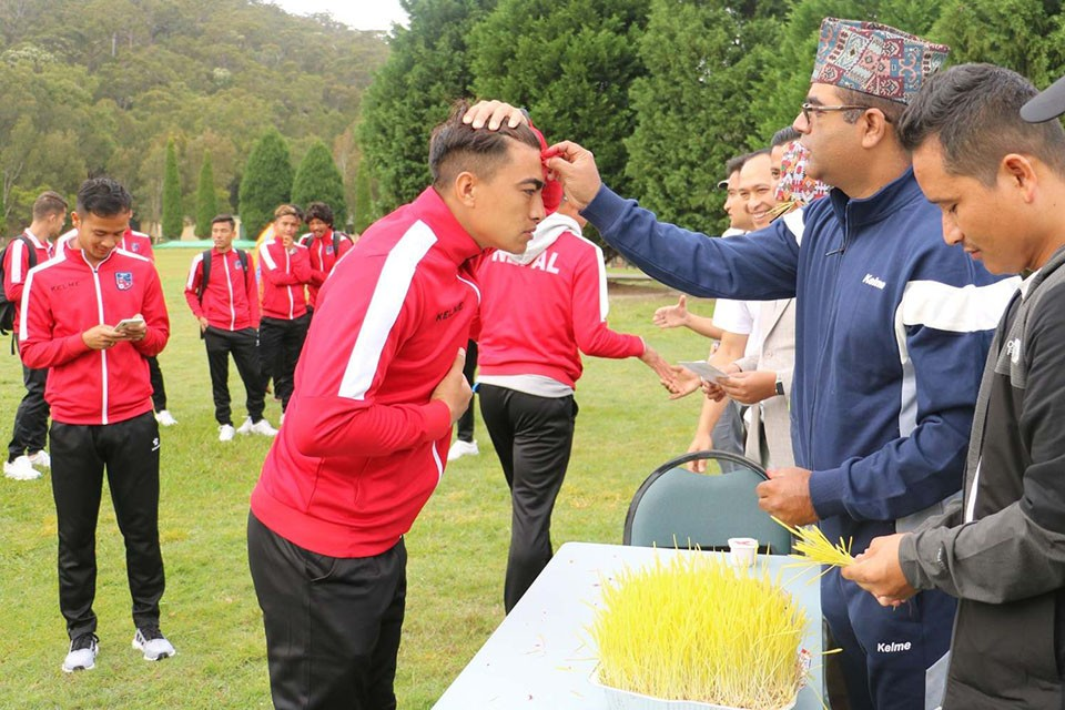 Nepal National Team Celebrates Dashami In Sydney, Australia (WITH VIDEO)