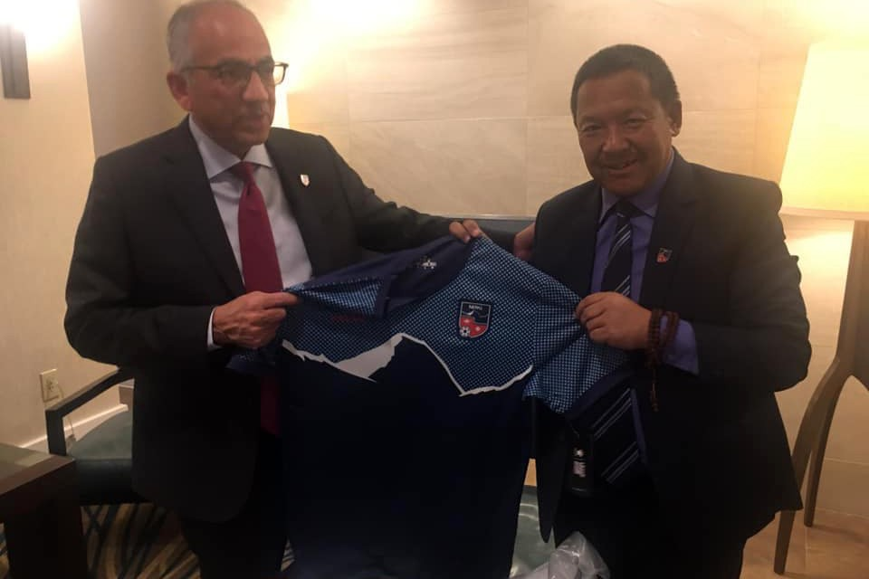 ANFA Prez Sherpa Suggests US Soccer Prez Claudio To Promote FIFA World Cup 2026 From Mount Everest