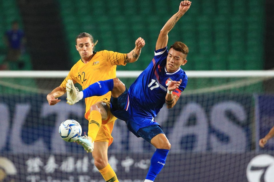 FIFA World Cup Round 2 Asian Qualifiers: Australia Smashes Chinese Taipei