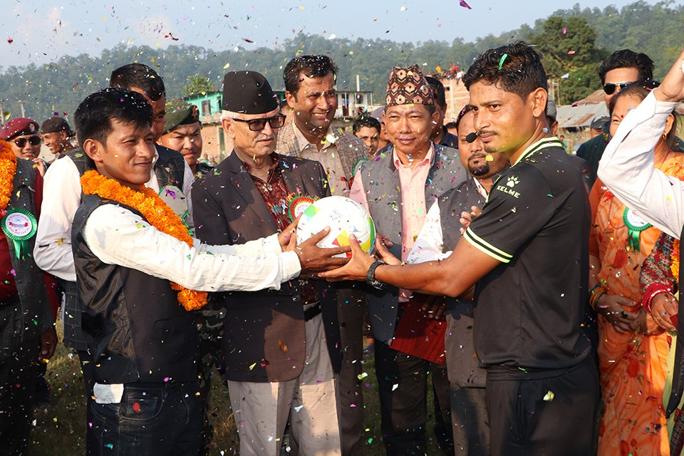 Makwanpur: National Level Majhi Gold Cup Kicks Off