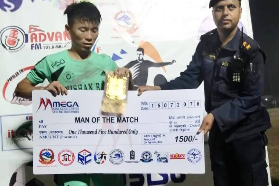 Sunsari: New Sungava Club Enters Final Of 1st President Cup Football Tournament