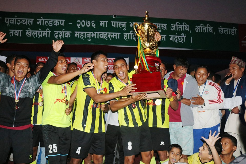 Jhapa: Nepal Army Wins Title Of Hamro Purbanchal Cup