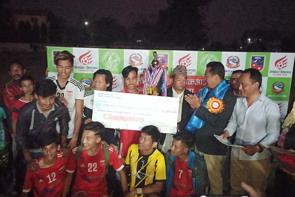 Urlabari: Church Boys United Wins Title Of Open Knockout Championship