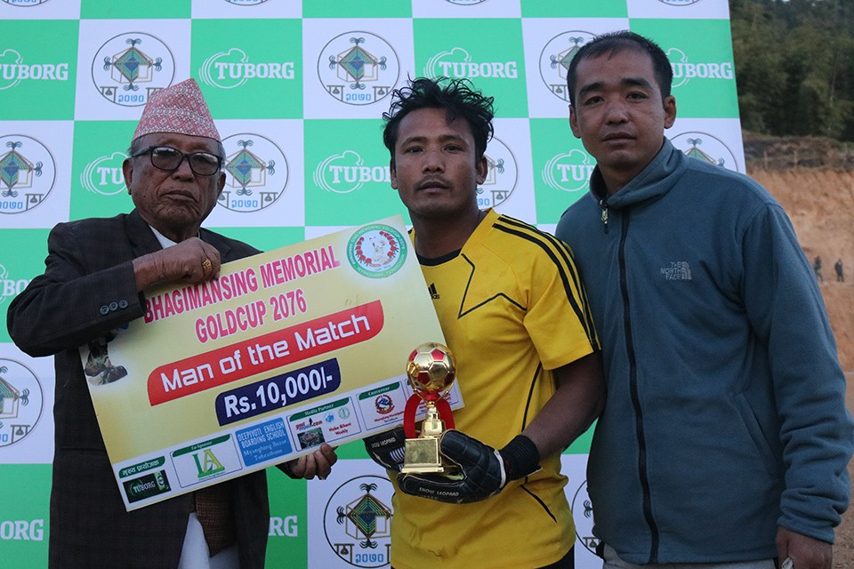 Terahthum: The Young Brothers Sunsari Enters SFs Of 2nd Bhagiman Sing Memorial Gold Cup