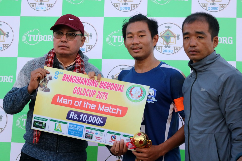 2nd Bhagiman Sing Memorial Gold Cup: Church Boys United Enters SFs