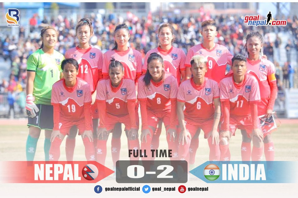13th SA Games 2019: Nepal Women's Team Wins Silver Medal