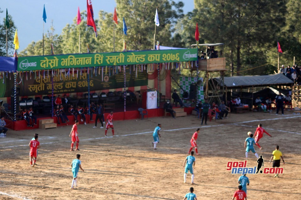 2nd Bhagiman Sing Memorial Gold Cup Final: Jalthal FC Jhapa Vs BTFC Terahthum Today