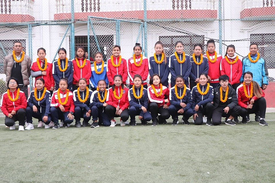 Nepal U19 Women's Team Off To Bahrain For Three Match Friendly Series
