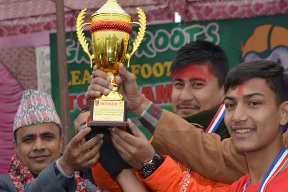 Bara: St. Jones Win Title Of Grassroots Football League