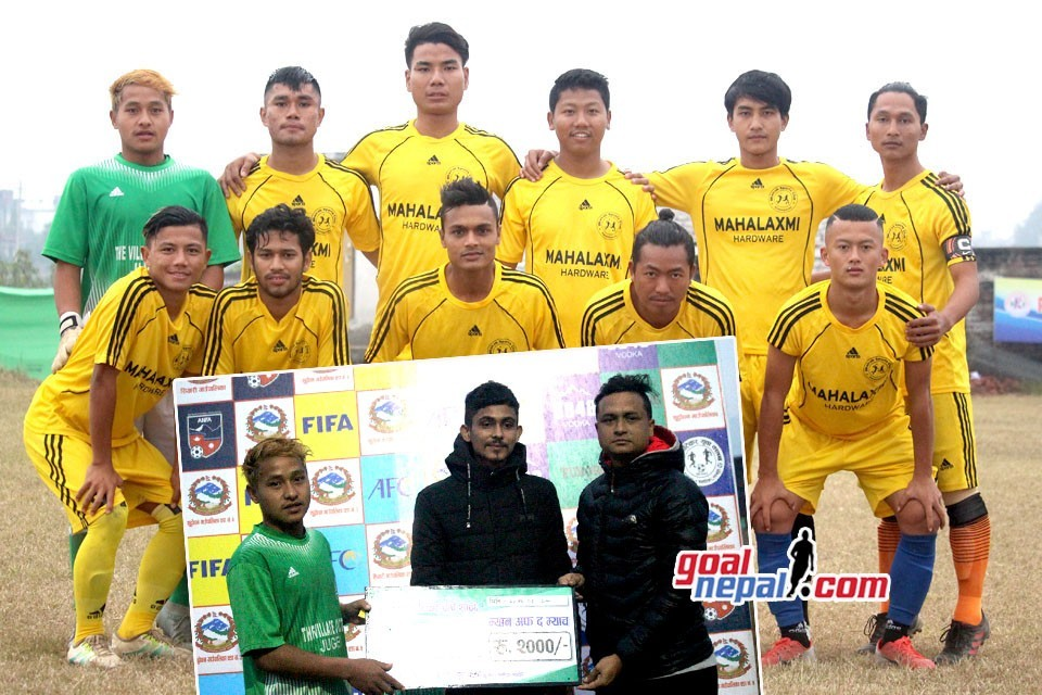 Rupandehi: Bhairab FC Nawalparasi Enters FINAL Of 7th Pharsatikar Cup