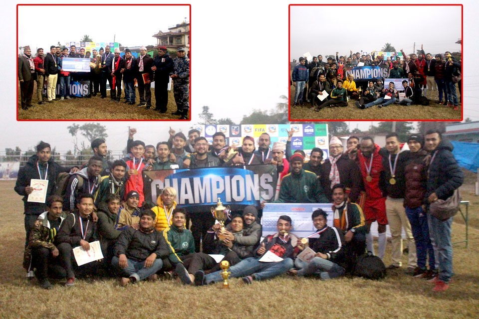 Rupandehi: Hosts Pharsatikar Wins Title Of 7th Pharsatikar Cup
