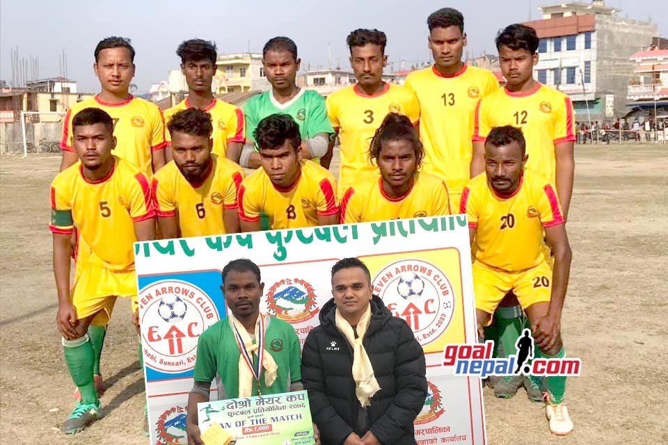 Sunsari: Duhabi 11 Enters Final Of Mayor Cup
