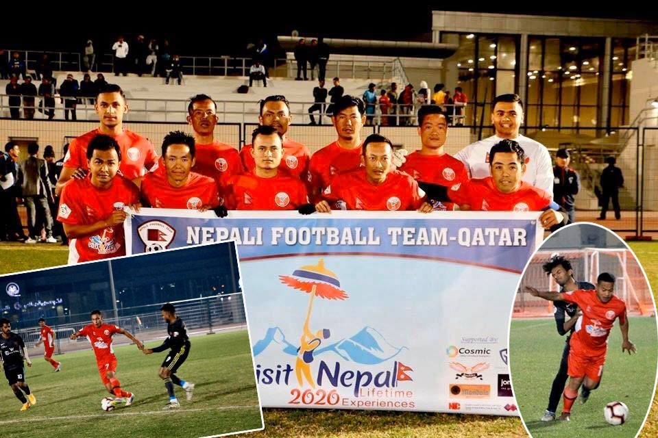 NFT Qatar Beats Bangladesh Community Team In Its Opener Of Asian Communities Championship