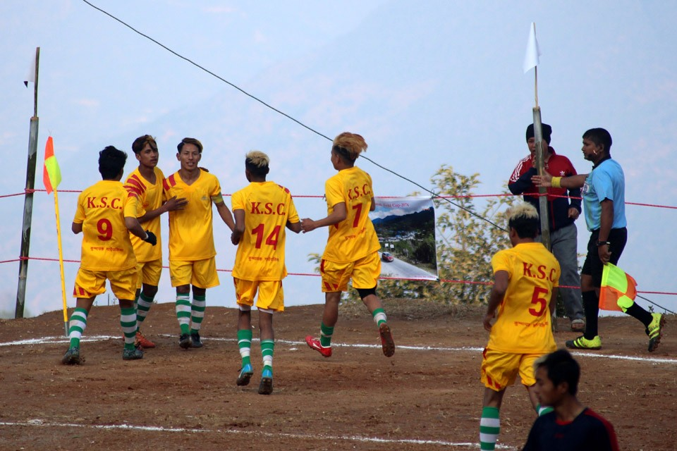 Panchthar: Hosts Kummayak Sporting Club Enters Final Of 3rd Kummayak Gold Cup