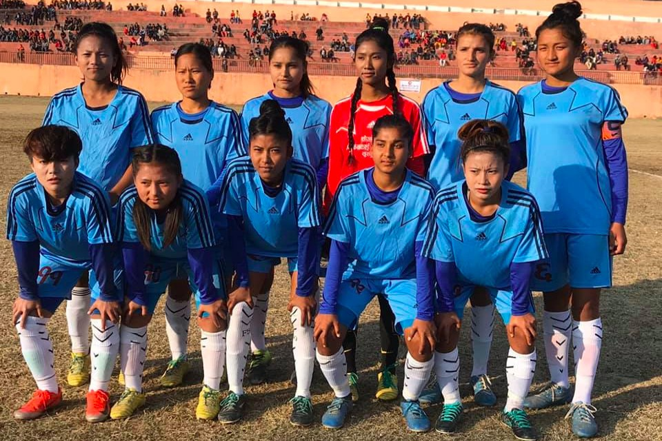 Dhankuta: Kankai Womens Team Enter SFs Of Martyr Ram Krishna Shrestha Memorial Cup