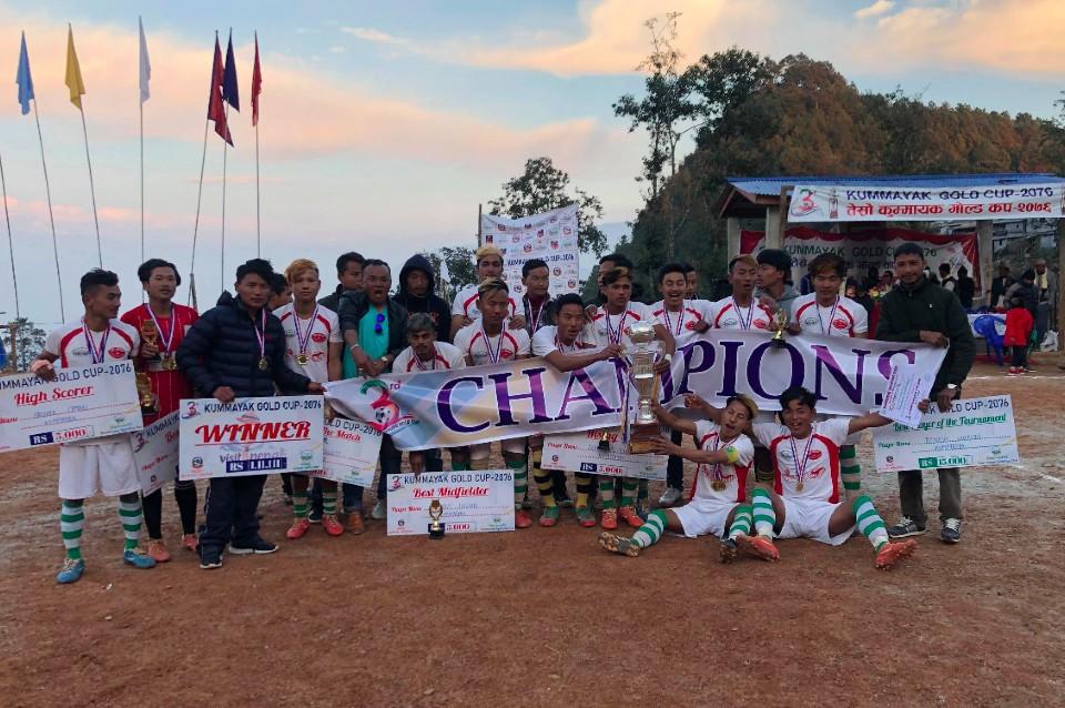 Pancthar: Hosts Kummayak Sporting Club Wins Title Of 3rd Kummayak Gold Cup