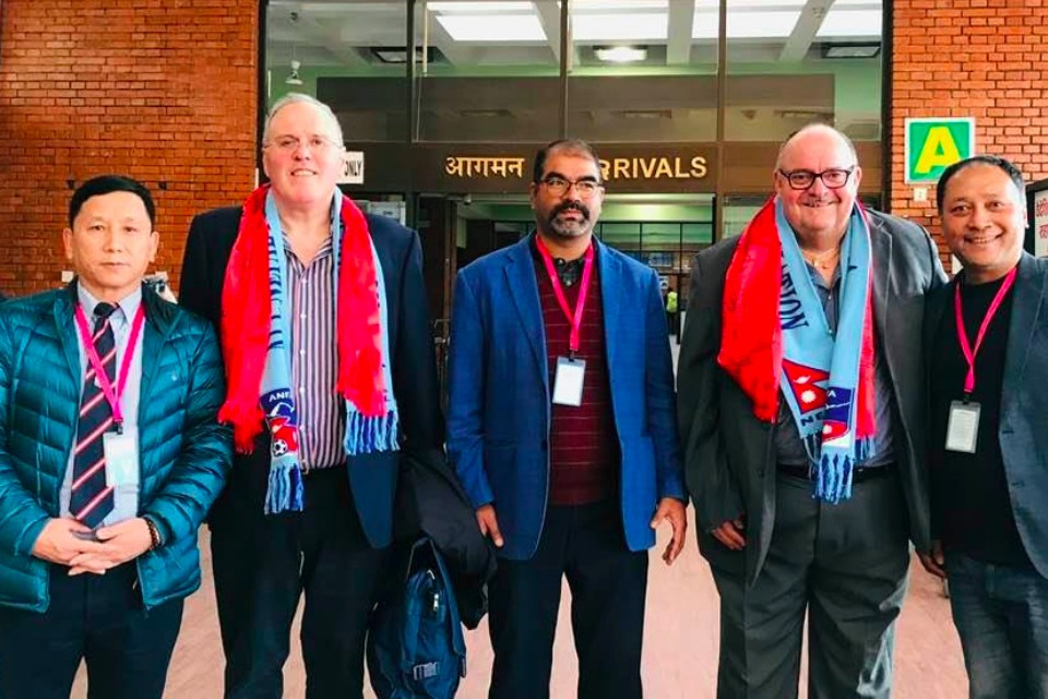 Kathmandu: England FA Officials Land K-Town To Sign An MoU With ANFA For A Friendly Match