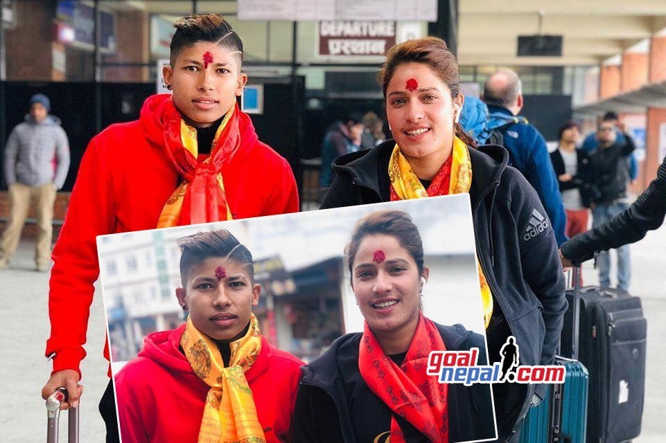 Two Nepal Women's Internationals Off To India