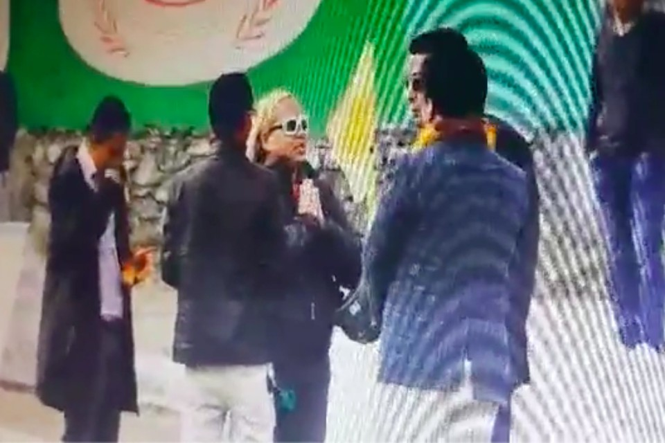 Controversial MLA Rajiv Gurung Alias Deepak Mannage Manhandles Kaski DFA Prez Milan Gurung