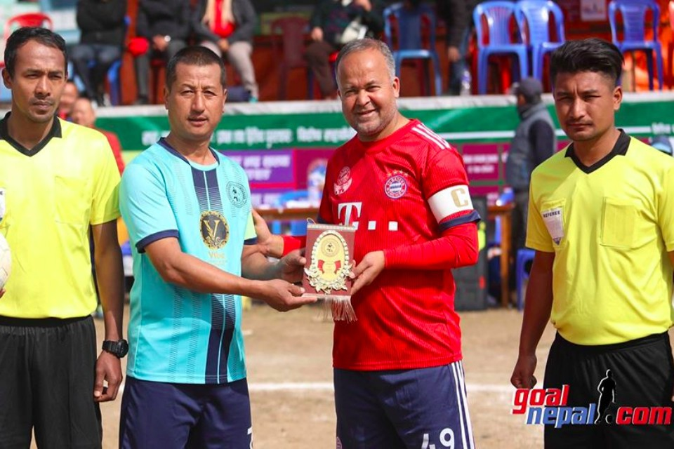 Kaski: ABC Vs T-Burger Veterans In The Final Of Bagar Bhai Khalak Veterans Cup