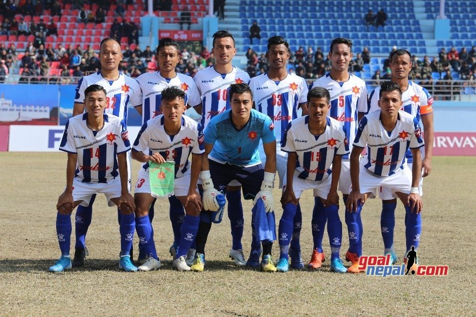 Martyr's Memorial A Division League: Nepal Army Fails To Go Three Points Clear