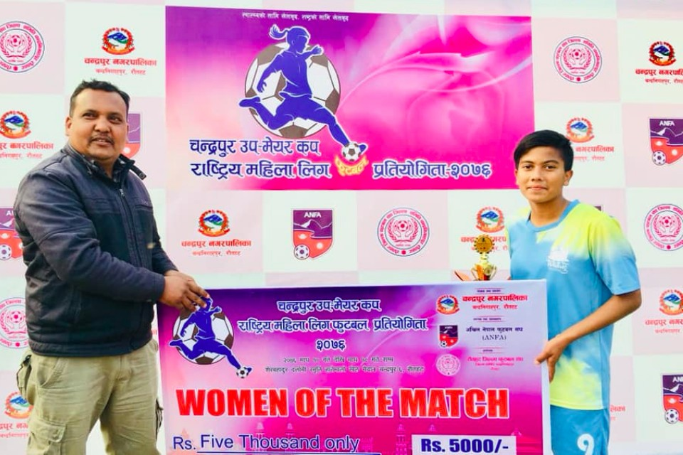 Rautahat: Waling, Bansgadhi Register Win In Dy Mayor Women's Championship