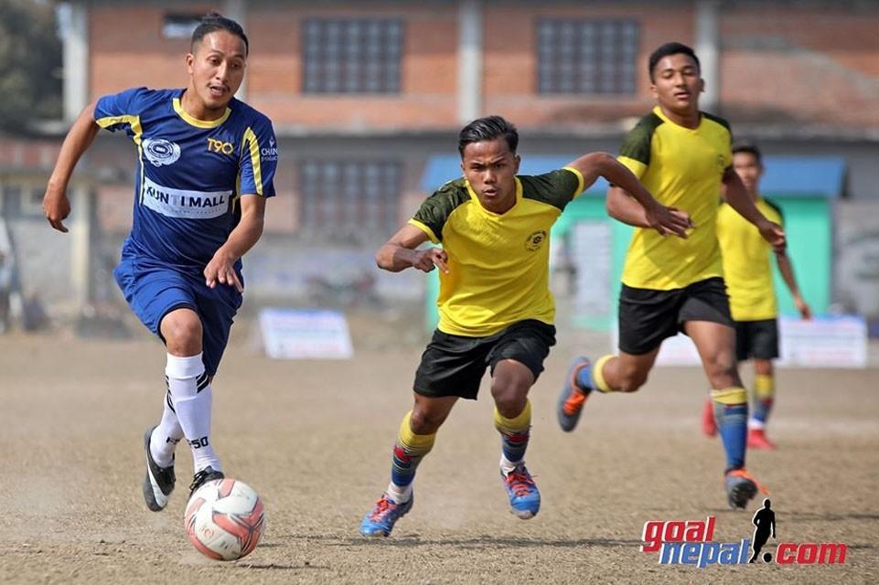 Adarsha Yuwa Club Vs Triveni Yuwa Club In The Final Of Gandaki Province League