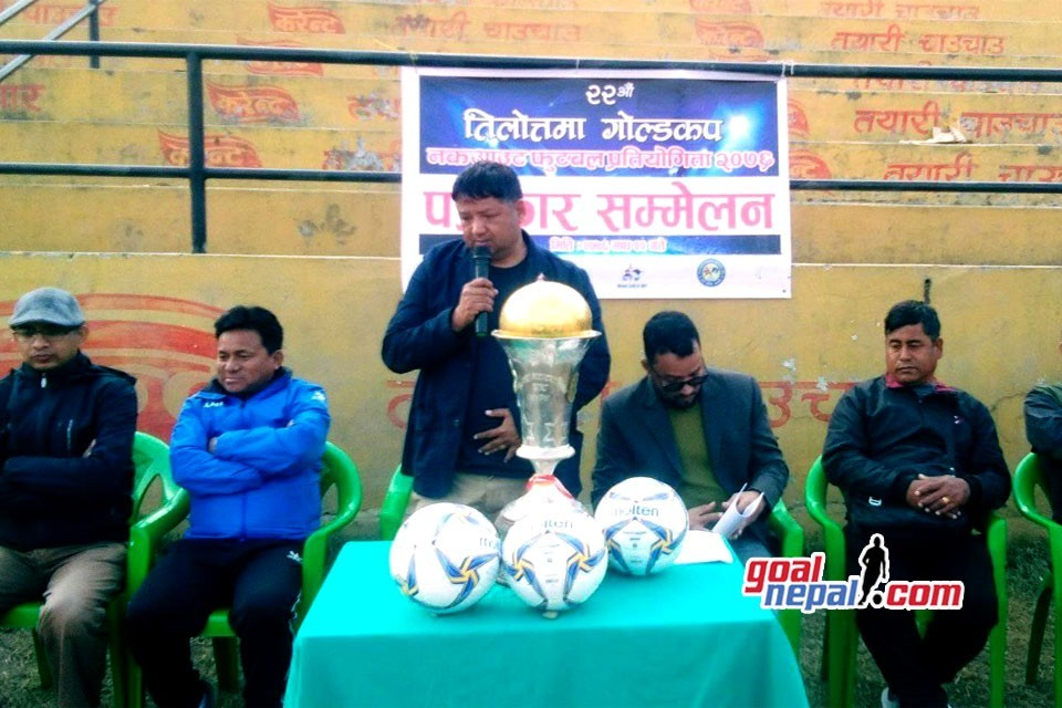 22nd Tilottama Gold Cup From Falgun 8; Winners To Get Nrs 10,51,000 !