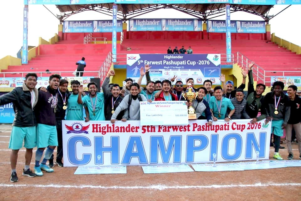 Kailali: Star City Club Wins Title Of 5th Far West Pashupati Cup