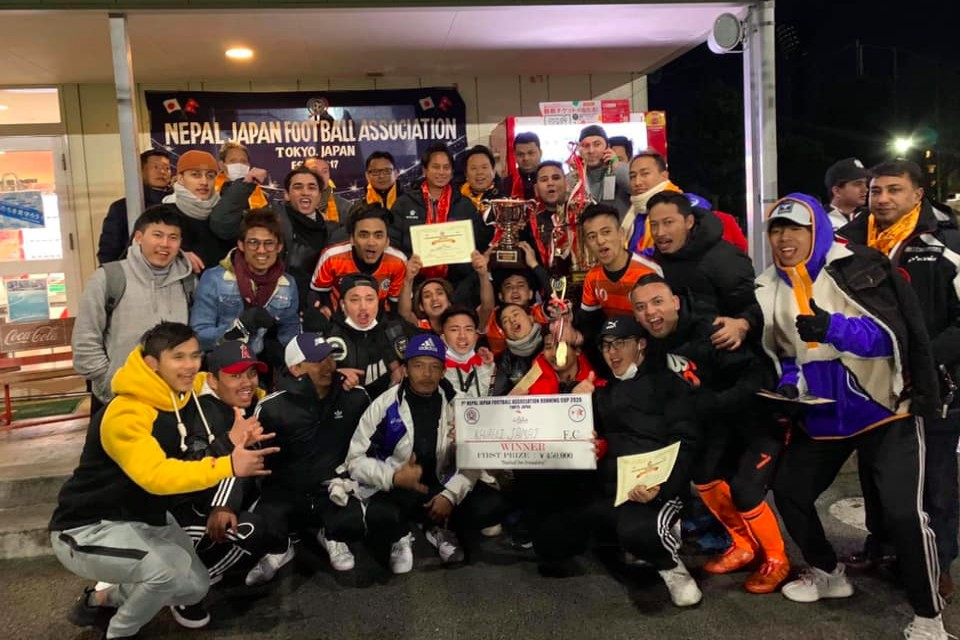 Japan: Kavreli Samaj Wins Title Of 1st NJFA Running Cup
