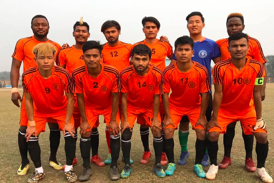 Sunsari: Bindabasini FC Enters Final Of 2nd GP Koirala Memorial Gold Cup