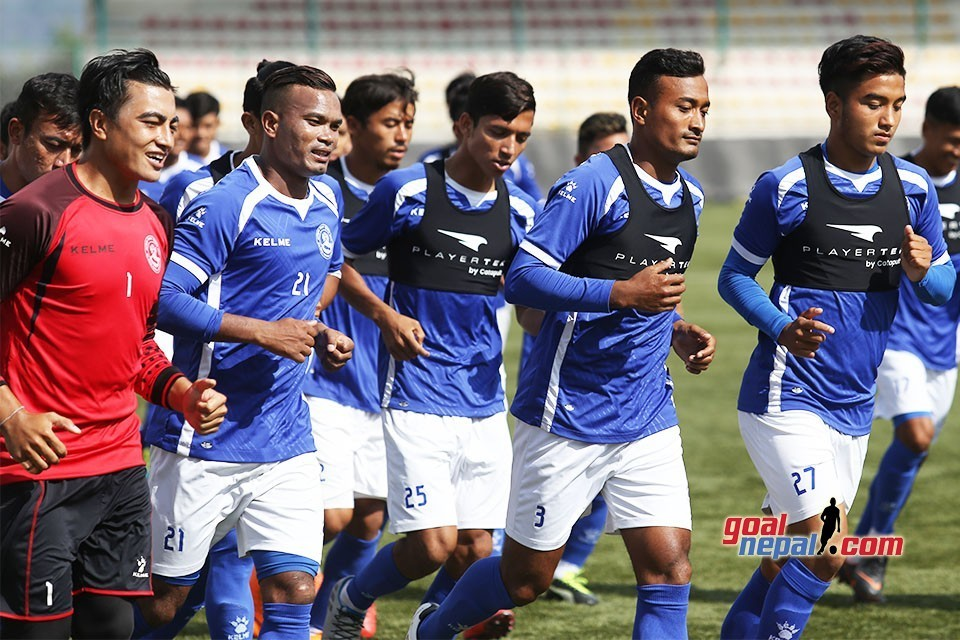 Nepal National Team Starts Training For WC QFs On March 1