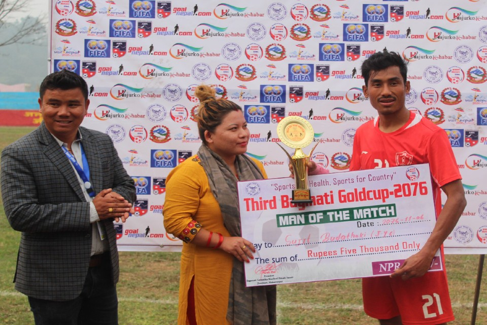 Jawalakhel Youth Club Beats Danphe To Enter SFs Of 3rd Bagmati Gold Cup