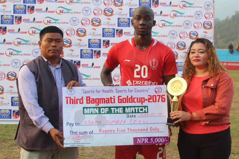3rd Bagmati Gold Cup: Jawalakhel Youth Club Sidelines Sankata To Enter Final