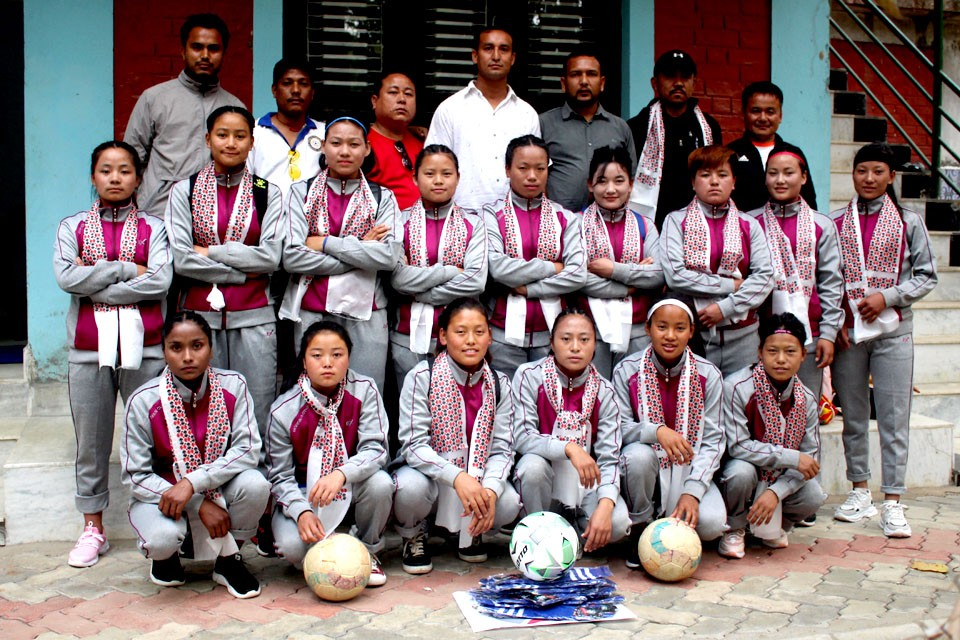 Red Star FC Jhapa Supports Women's Team From Taplejung