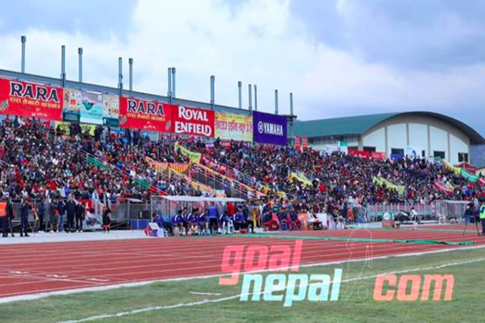 10K Plus Fans Attend 18th Aaha! RARA Gold Cup Final Match