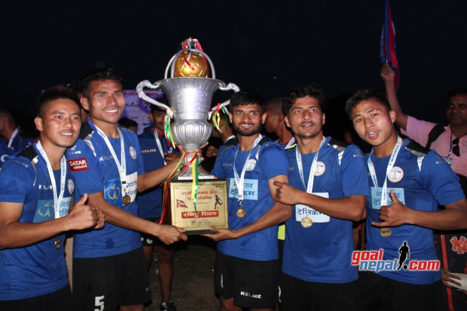 Nepal Police Club Clinches Title Of 4th Rajarshi Janak Cup