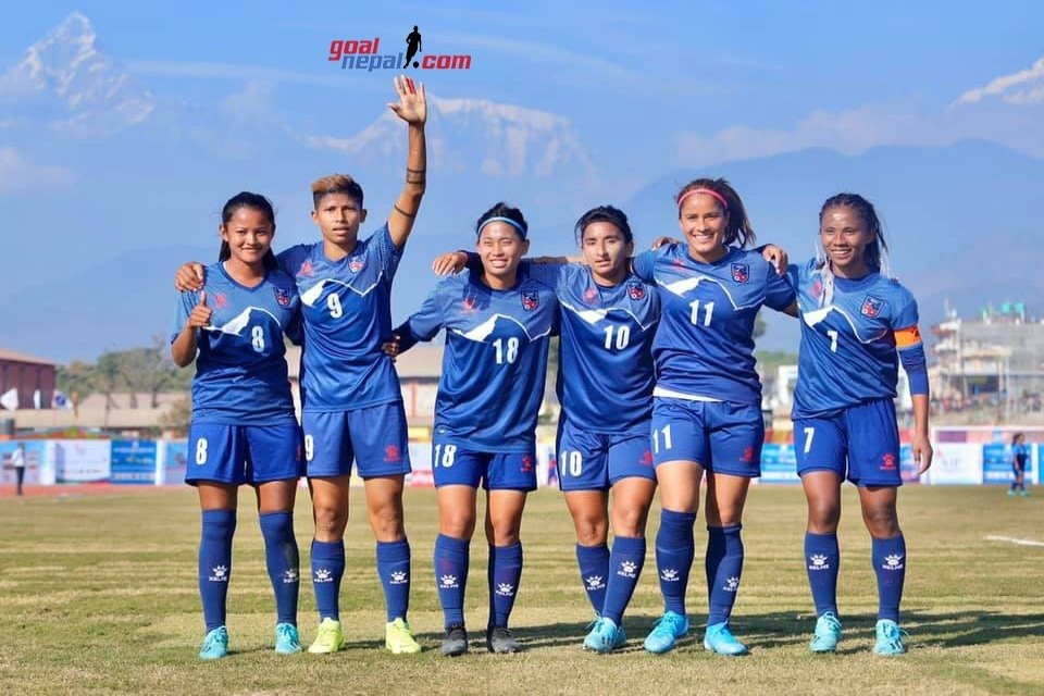 Nepal Women's Team Drops Two Position Down To 99