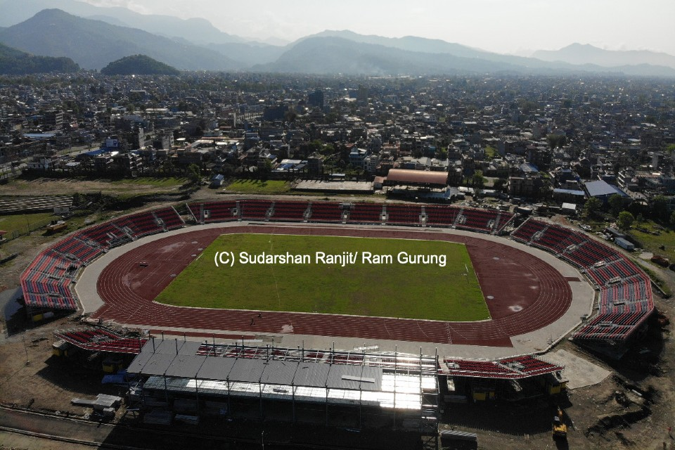 Aerial View Of New Pokhara Stadium Will Mesmerize You - PICTORIAL