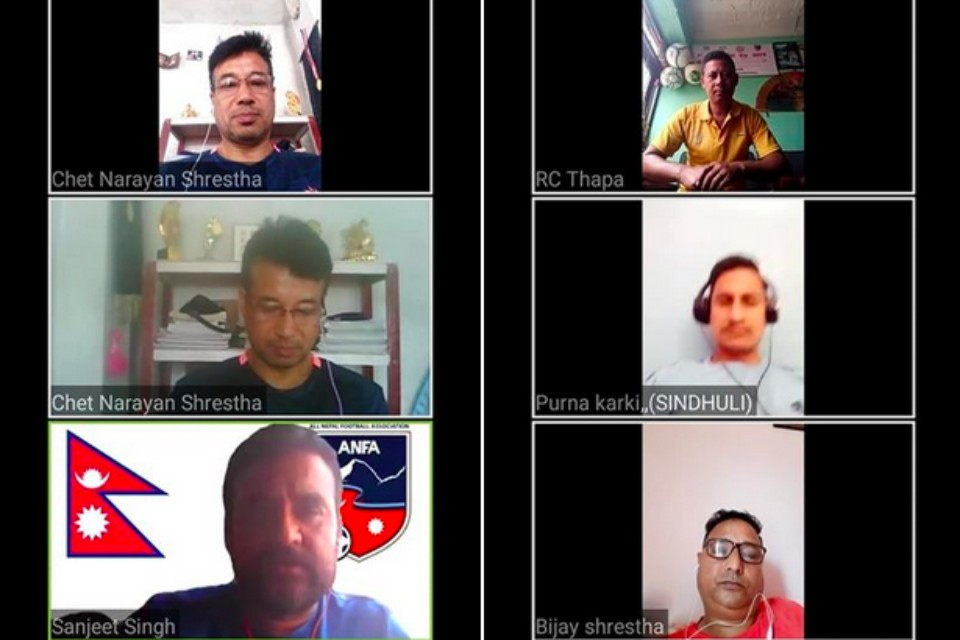 ANFA Starts Discussion With Coaches Through Webinar