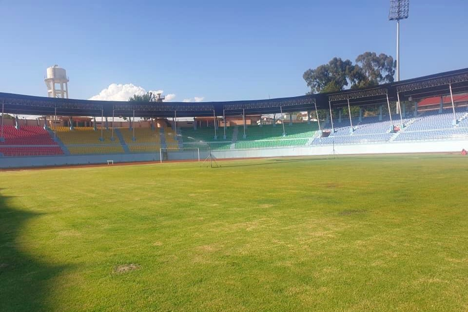 Dasharath Stadium Looks Ready For Matches But When ?