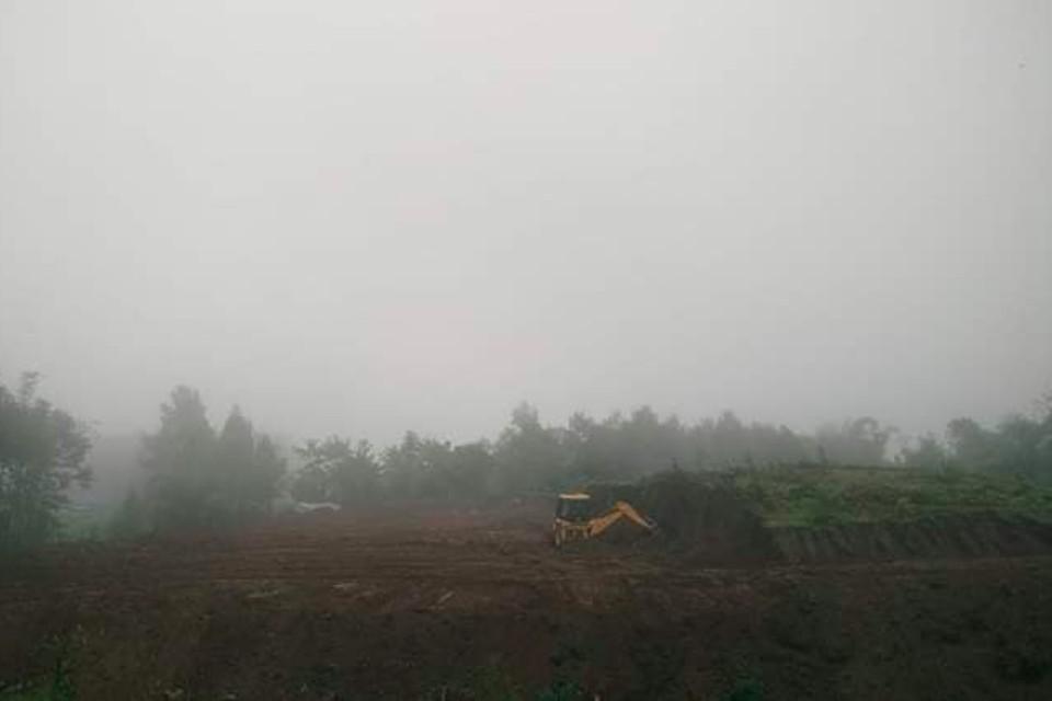 Ilam: Construction Of Jamuna Football Ground Begins